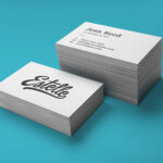 Printed A Business Cards